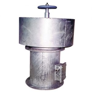 Marine Type Hot Dipped Galvanized Axial Fan c/w Mushroom Head